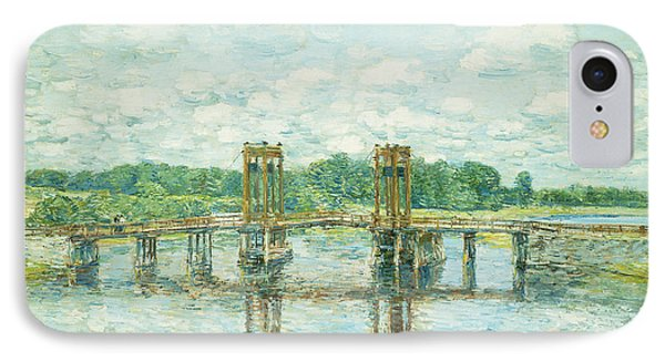 The Toll Bridge New Hampshire Phone Case by Childe Hassam