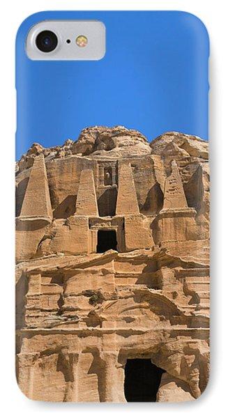 The Tomb Of Obelisks, Petra, Jordan IPhone Case