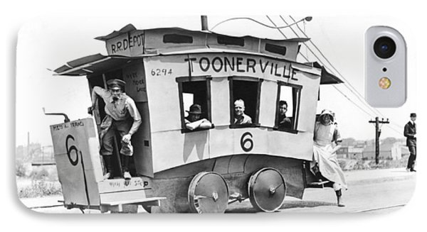 The Toonerville Trolley IPhone Case by Underwood Archives