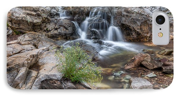 IPhone Case featuring the photograph The Top Of Carr Canyon Falls by Beverly Parks