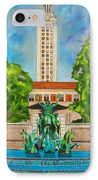 The Tower - Austin Texas IPhone Case by Manny Chapa