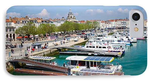 The Town And Port Of La Rochelle IPhone Case