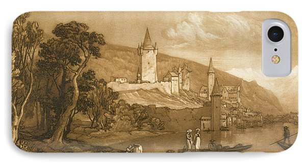 The Town Of Thun Phone Case by Joseph Mallord William Turner