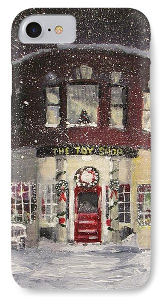 The Toy Shop Phone Case by Jack Skinner