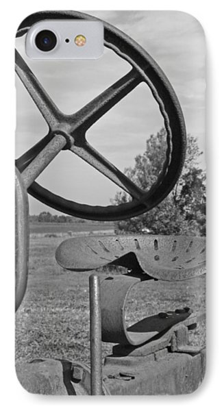 The Tractor Seat Phone Case by Heather Allen
