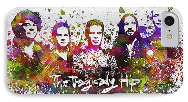 The Tragically Hip In Color IPhone Case by Aged Pixel