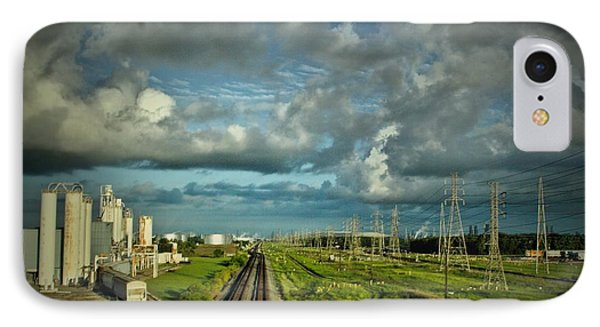 The Train Yard IPhone Case