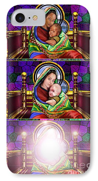 The Transfiguration Of Madonna And Child  Phone Case by Reggie Duffie