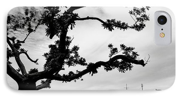 The Tree And The Boat IPhone Case