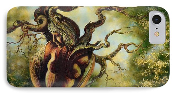 The Tree IPhone Case by Anna Ewa Miarczynska