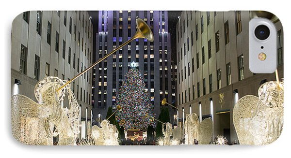 The Tree At Rockefeller Center IPhone Case by Kenneth Cole