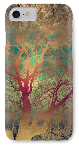 The Tree Called Beautiful Phone Case by Gray  Artus