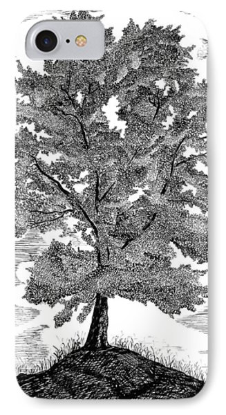 The Tree IPhone Case by Carl Genovese