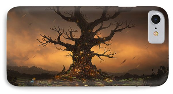 The Tree IPhone Case by Cassiopeia Art