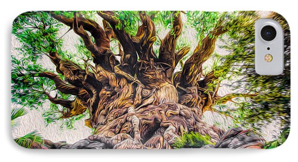 IPhone Case featuring the photograph The Tree by Joshua Minso
