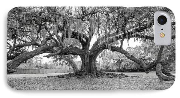 The Tree Of Life Monochrome Phone Case by Steve Harrington