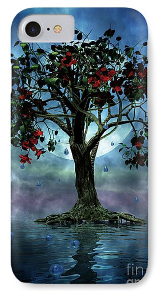 The Tree That Wept A Lake Of Tears Phone Case by John Edwards