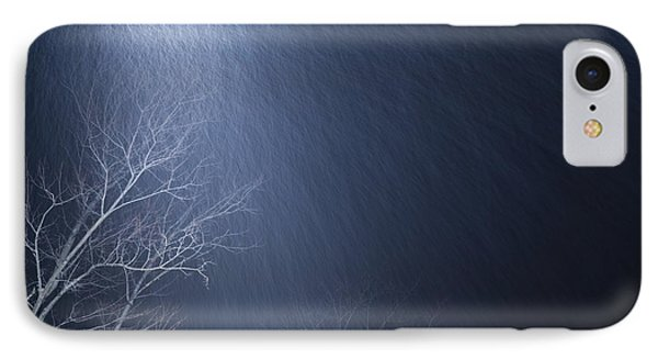 The Tree Under The Snowfall IPhone Case