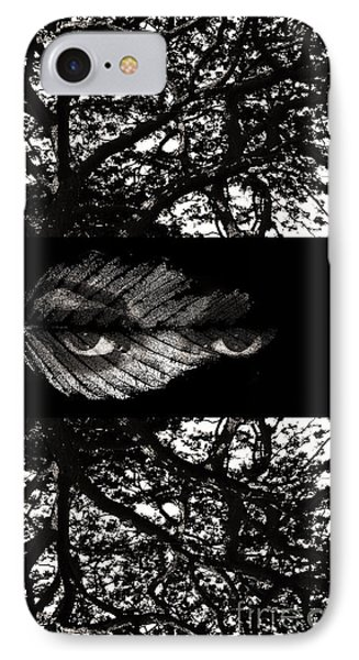 The Tree Watcher IPhone Case
