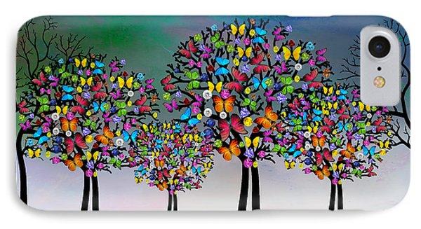 The Trees  IPhone Case by Mark Ashkenazi