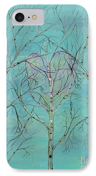 IPhone Case featuring the painting The Trees Speak To Me In Whispers by Deborha Kerr