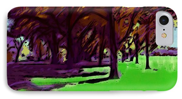 The Trees IPhone Case by Susan Townsend
