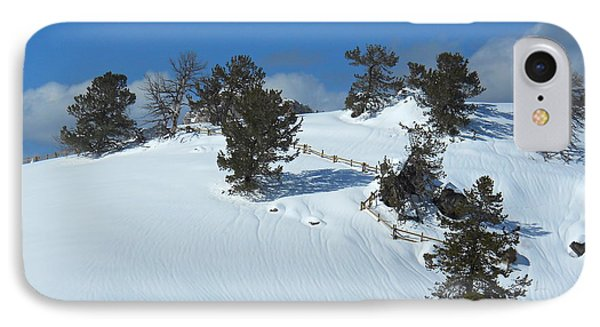 IPhone Case featuring the photograph The Trees Take A Snow Day by Michele Myers