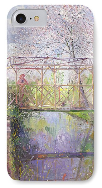 The Trellis Crossing IPhone Case by Timothy Easton