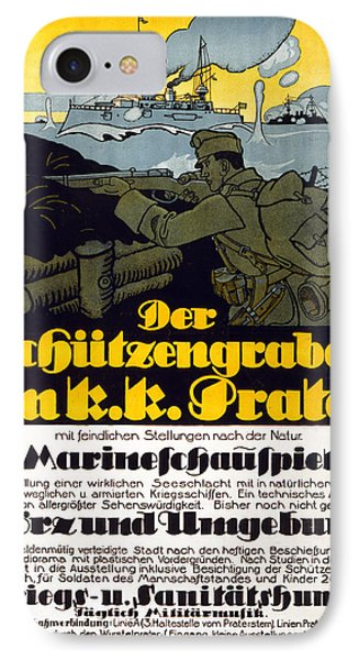 The Trench In The Prater, 1918 IPhone Case