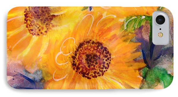 IPhone Case featuring the painting The Trio by Margaret Bobb