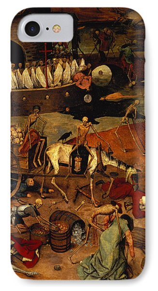 The Triumph Of Death IPhone Case by Pieter the Elder Bruegel
