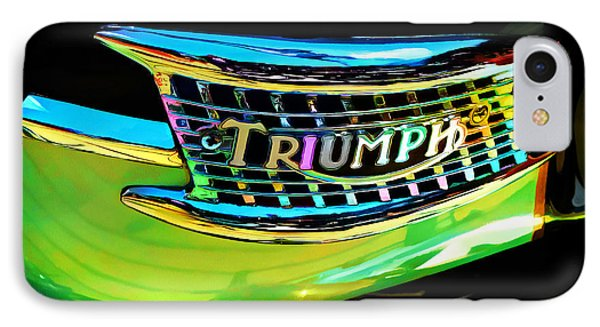 The Triumph Petrol Tank IPhone Case