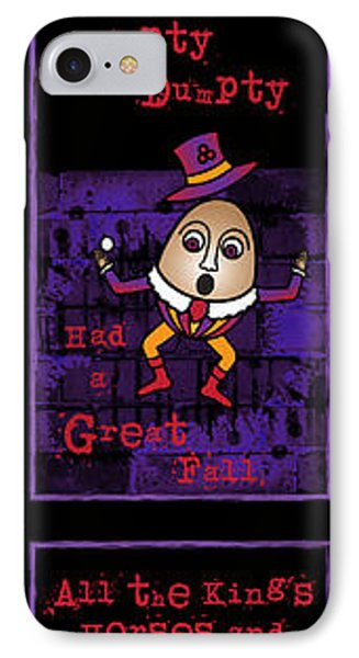 The Truth About Humpty Dumpty IPhone Case by Celtic Artist Angela Dawn MacKay
