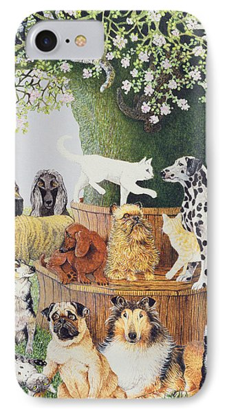 The Trysting Tree IPhone Case by Pat Scott