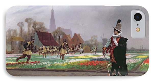 The Tulip Folly Phone Case by Jean Leon Gerome