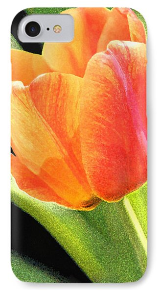 IPhone Case featuring the digital art The Tulip by Gene Walls