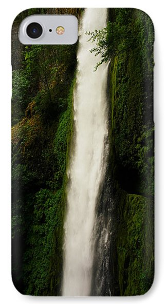 The Tunnel Behind Tunnels Falls Phone Case by Jeff Swan