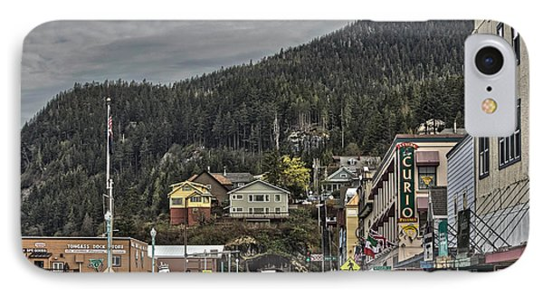 The Tunnel In Ketchikan  IPhone Case by Timothy Latta