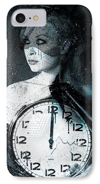 The Twelfth Hour IPhone Case by Gary Bodnar