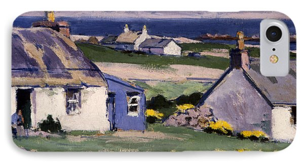 The Two Crofts IPhone Case by Francis Campbell Boileau Cadell