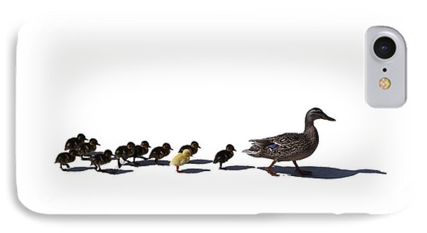 IPhone Case featuring the photograph The Ugly Duckling  by Lars Lentz