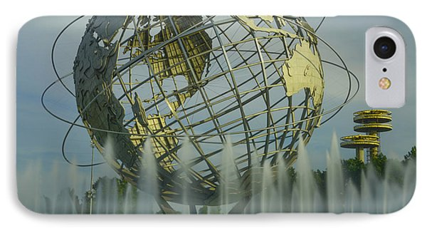 The Unisphere Phone Case by Theodore Jones