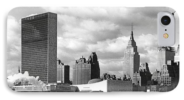 The United Nations Building IPhone Case by Underwood & Underwood