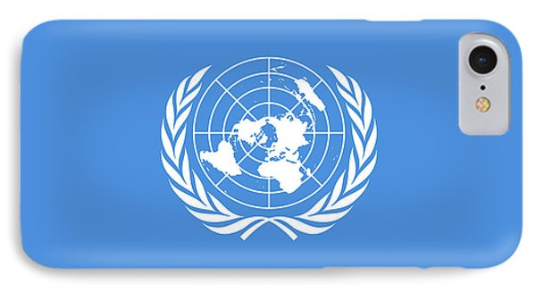 The United Nations Flag  Authentic Version IPhone Case