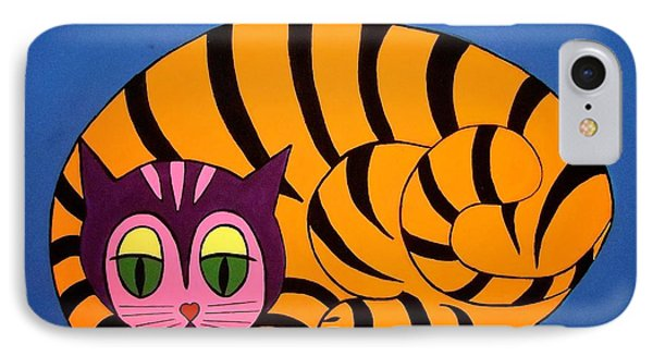 The Unity Cat IPhone Case by Stephanie Moore