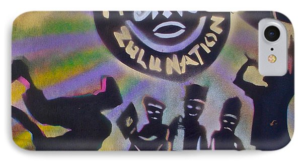 The Universal Zulu Nation Phone Case by Tony B Conscious