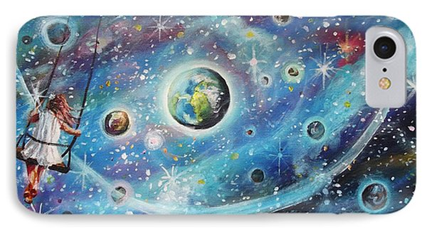The Universe Is My Playground IPhone Case by Dariusz Orszulik