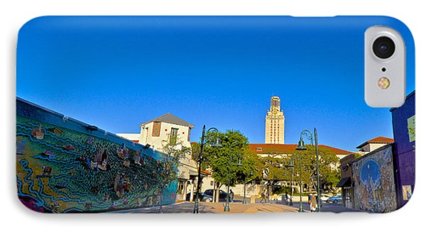 The University Of Texas Tower Phone Case by Kristina Deane