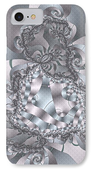 IPhone Case featuring the digital art The Unraveling by Owlspook