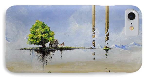 IPhone Case featuring the painting The Untold Story... by Mariusz Zawadzki